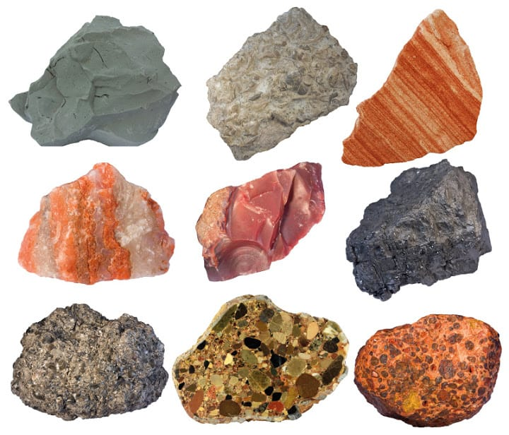 3 Common Types of Rocks on Ocean Floor