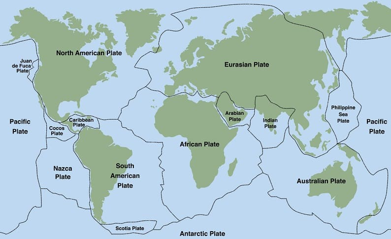 Causes of Tectonic Plate Shifts Phenomena