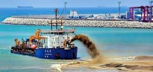 sea sand mining
