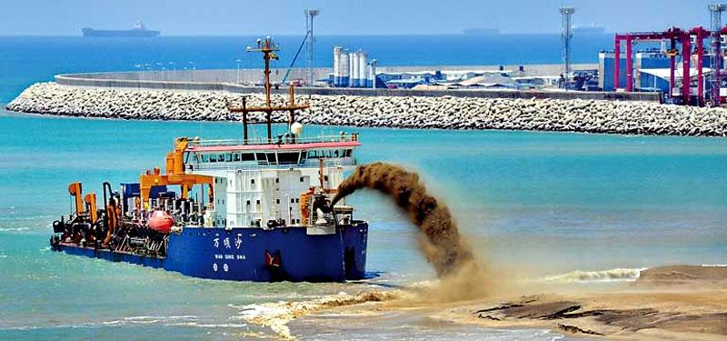 Positive and Negative Impacts of Sea Sand Mining